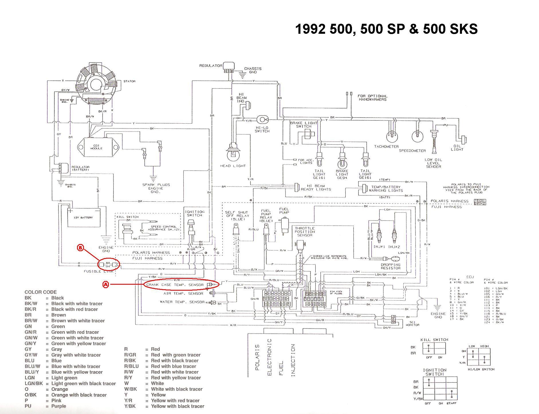 DX_4368] 2005 Polaris Sportsman 500 Wiring Diagram Schematic WiringXtern Taliz Momece Mohammedshrine Librar Wiring 101
