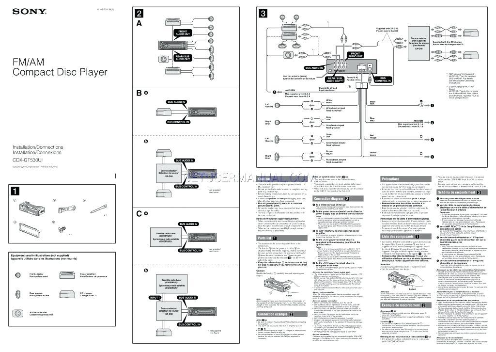 Peachy Sony Wiring Diagram Wiring Diagram Wiring Cloud Timewinrebemohammedshrineorg