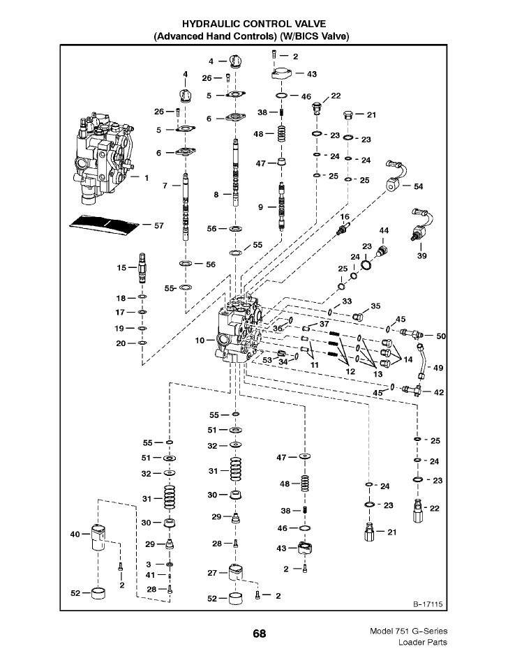 763 bobcat hydraulic schematic bx 5696  diagram fork lift diagram hydraulic system diagram bobcat  diagram fork lift diagram hydraulic