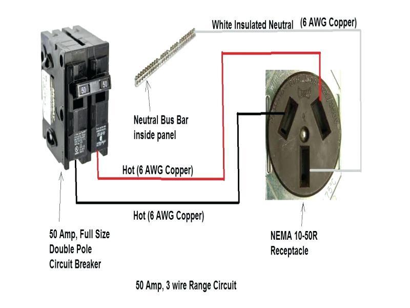 220v 50 Amp Wiring Diagram