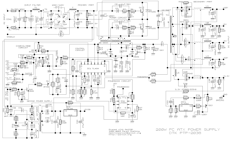 jem wiring diagrams dr 3623  com pc power supply wiring diagram using tl494 circuit  power supply wiring diagram using tl494