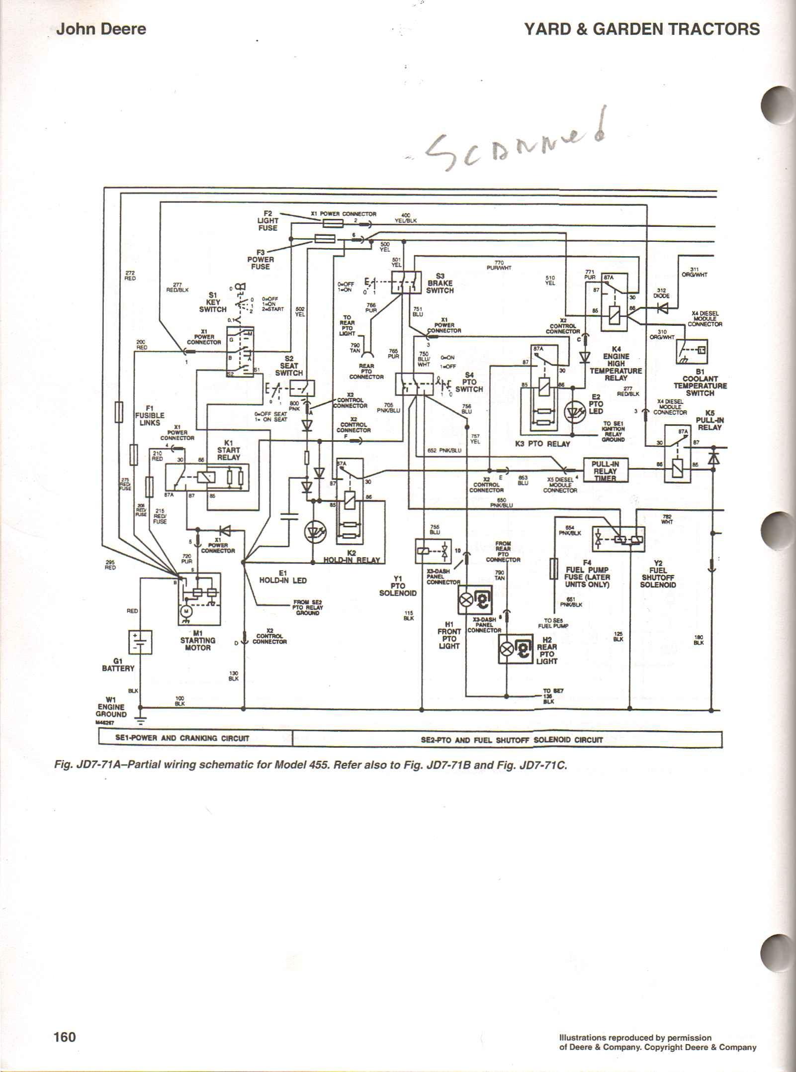 GY 40] John Deere Wiring Schematics 40H Download Diagram