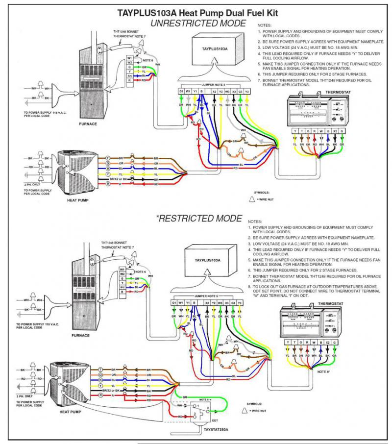 VS_8314] American Standard Heat Pump Wiring Diagram