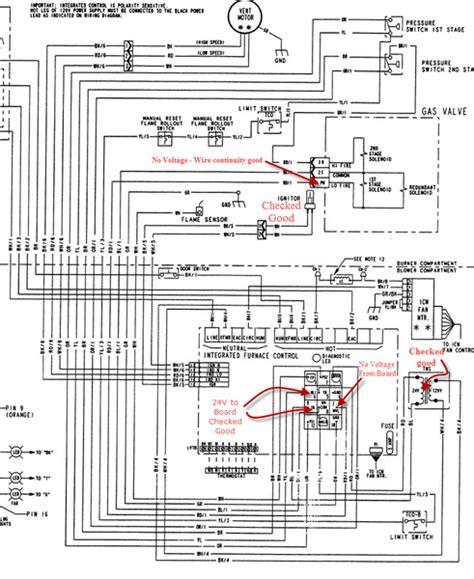 NY_1364] American Standard Furnace Model Twe036C140A1 Wiring Diagram Wiring  Diagram