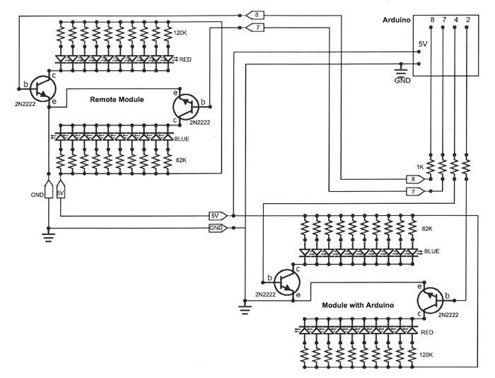 Hf 2755  Arduino Led Police Lights Circuit Wiring Diagram
