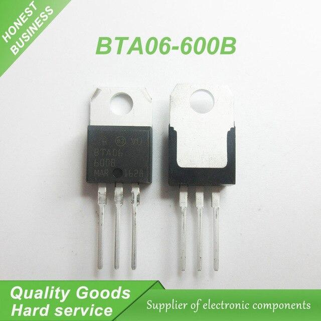 Swell 5Pcs Free Shipping Bta06 600B Bta06 Bta06 600 To 220 Triacs 6 Amp Wiring Cloud Loplapiotaidewilluminateatxorg
