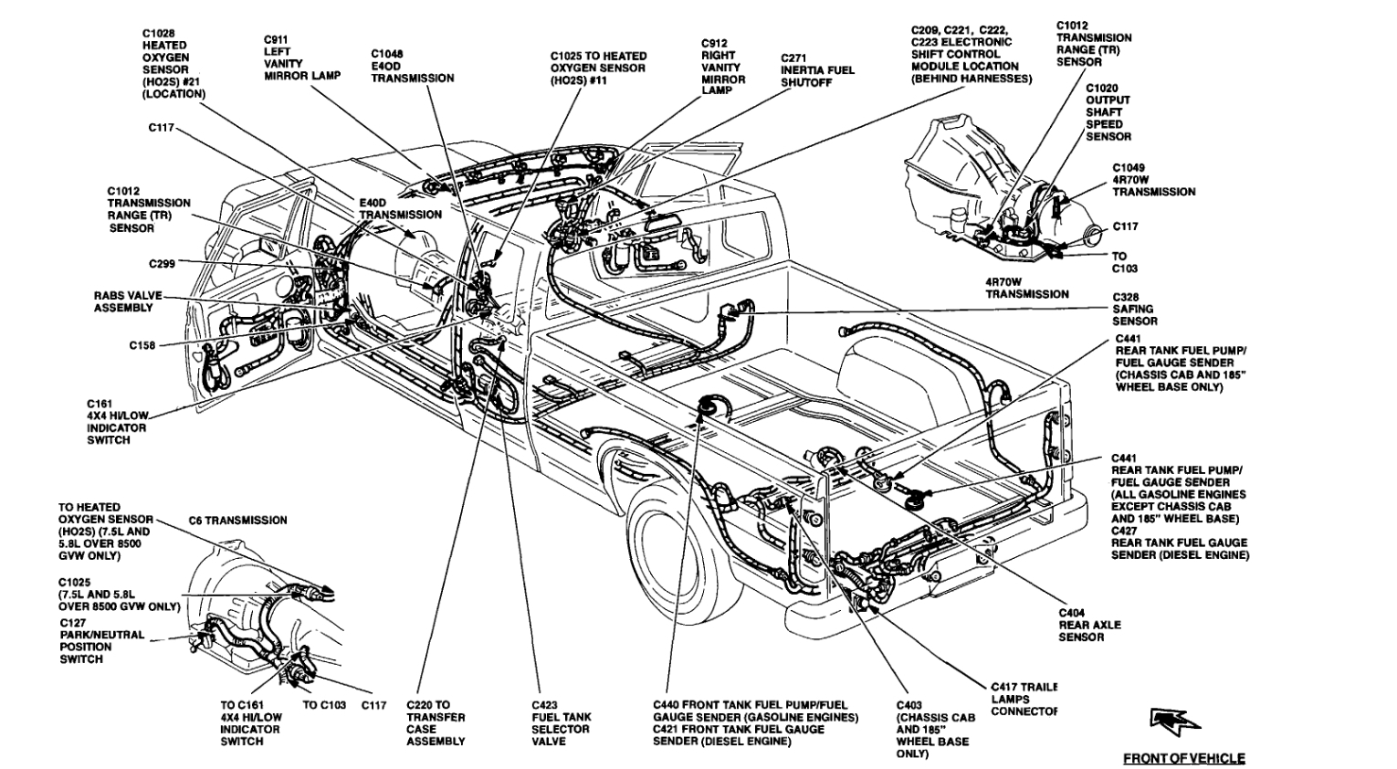 92 f150 ignition switch wiring diagram kg 8423  ford f 150 fuel system diagram ford free engine image for  kg 8423  ford f 150 fuel system diagram