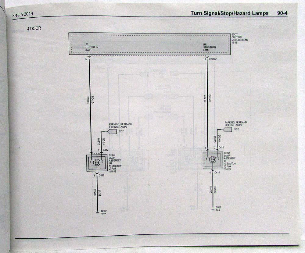 Ford Fiesta Wiring Diagram Pics