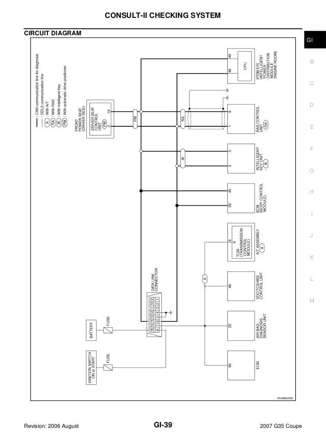 2005 Infiniti G35 Coupe Bose Wiring Diagram