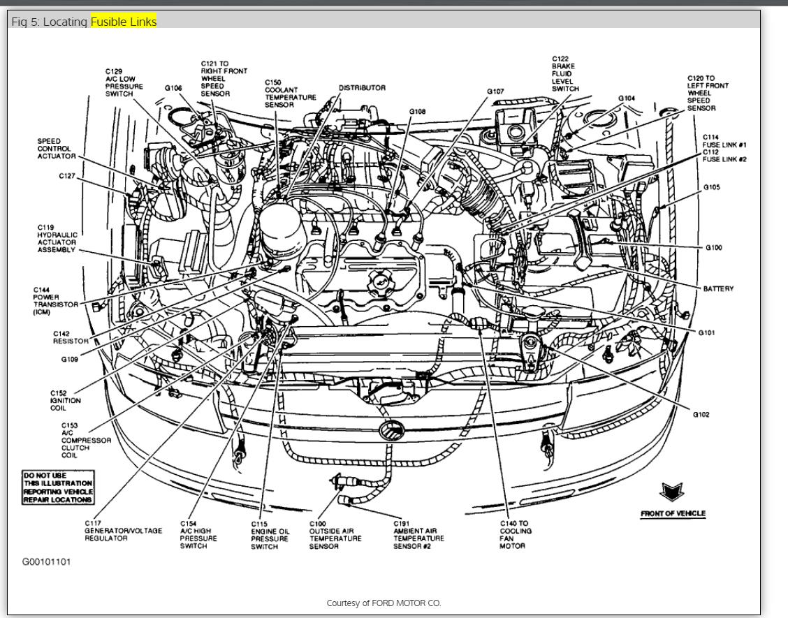 Dg 7749  1992 Grand Marquis Engine Diagram Free Diagram