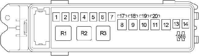 Fg 7371 06 Lexus Gs300 Fuse Box Diagram Download Diagram