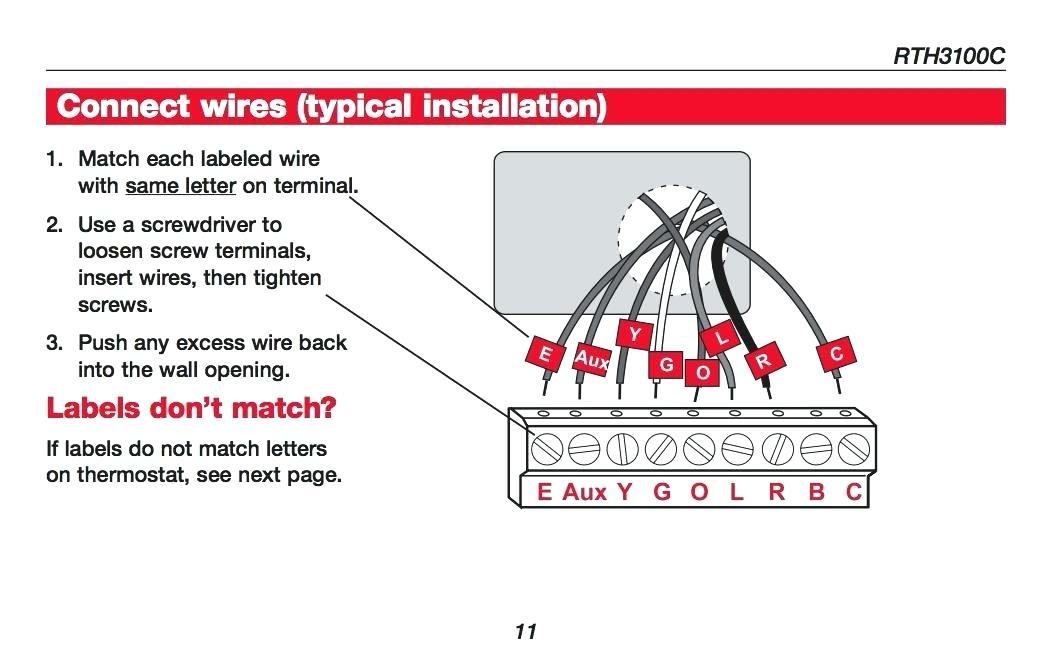 Kh 1876 Old Honeywell Thermostat Wiring Diagram Wiring Diagram