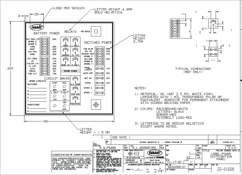 [SCHEMATICS_43NM]  EY_8824] Peterbilt Fuse Box 02 | Kenworth W900 Fuse Panel Diagram |  | Obenz Benkeme Mohammedshrine Librar Wiring 101