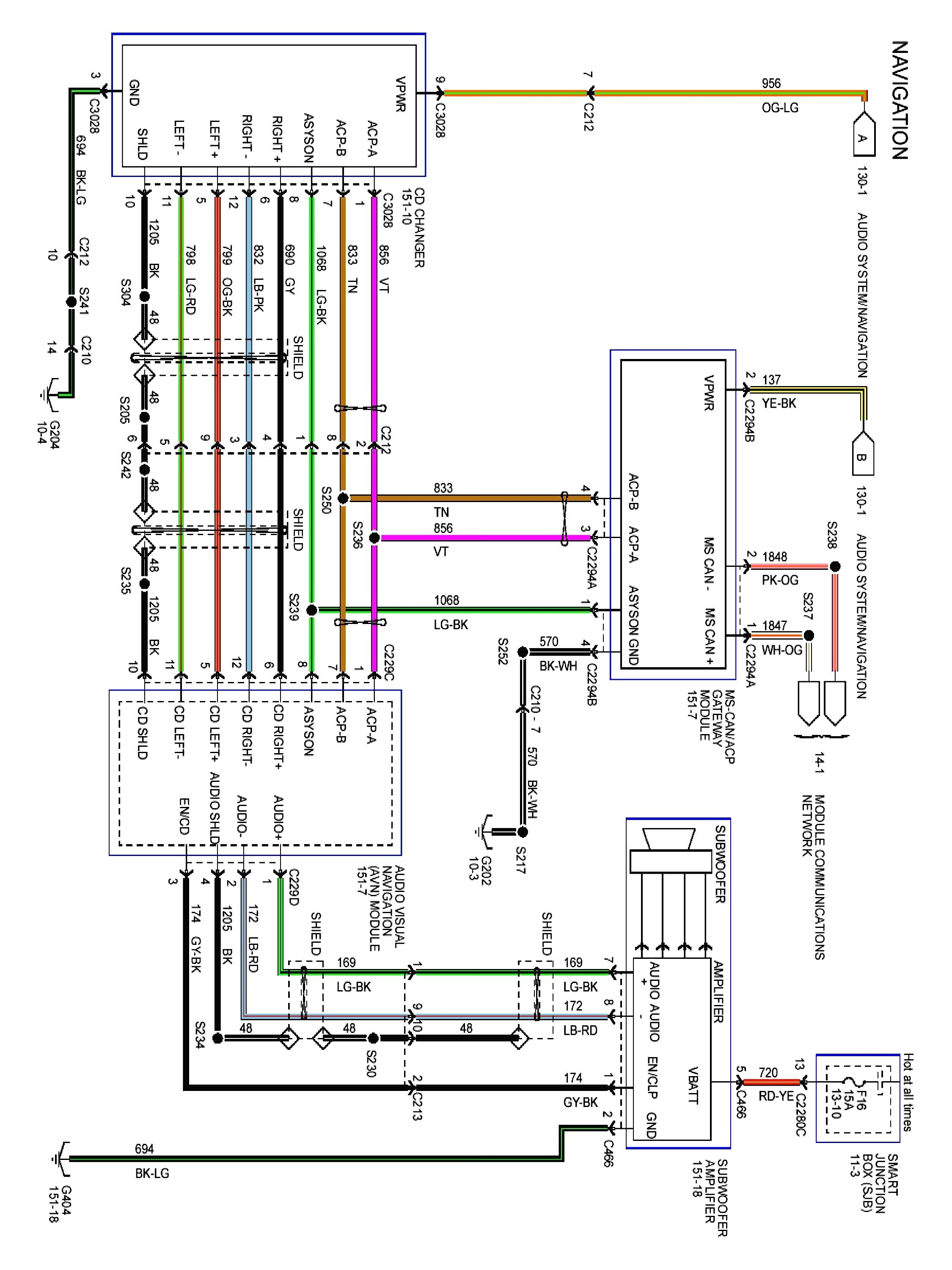 1997 ford expedition wiring diagram ba 9567  2003 ford expedition audio wiring download diagram  2003 ford expedition audio wiring