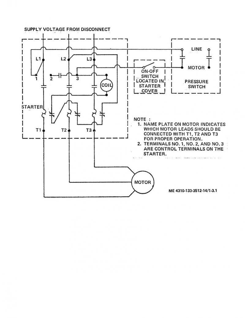 Nd 5639 Air Pressor Motor Starter Wiring Diagram On 230v Motor Wiring Diagram Schematic Wiring