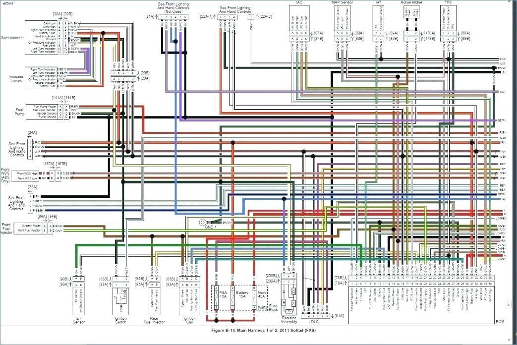 Wiring Diagram 1996 Harley