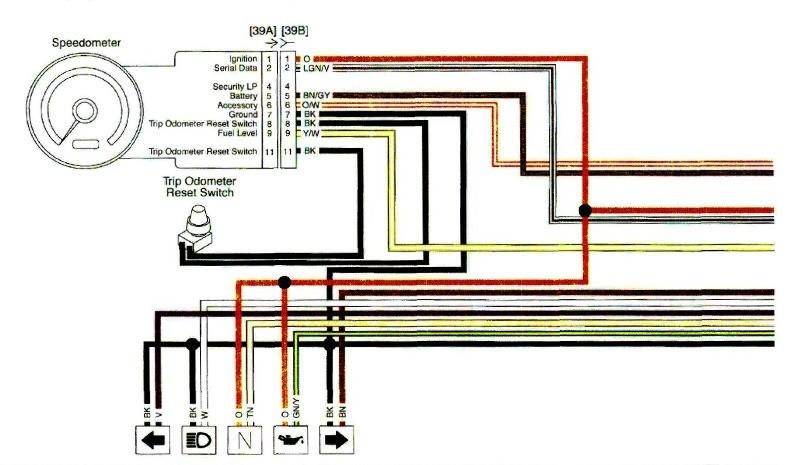harley speedometer wiring diagram 2012  wiring diagram