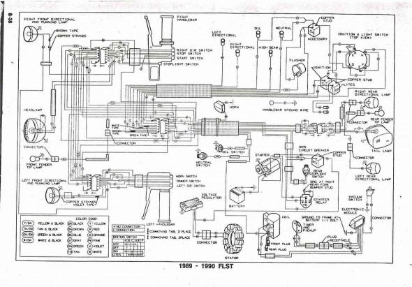 81 flh harley davidson wiring diagram  schematic wiring