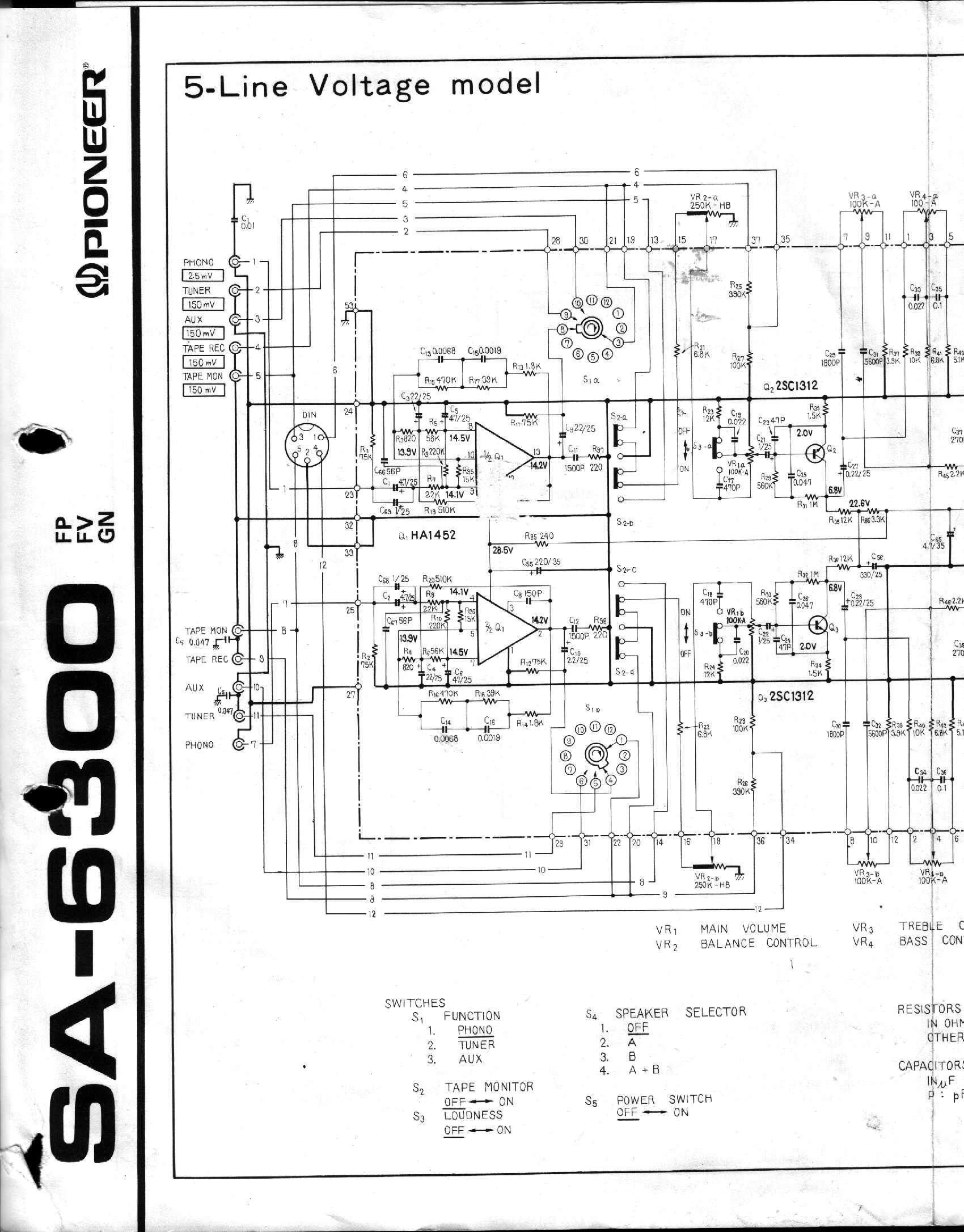 6300 Magnetek Wiring Diagram