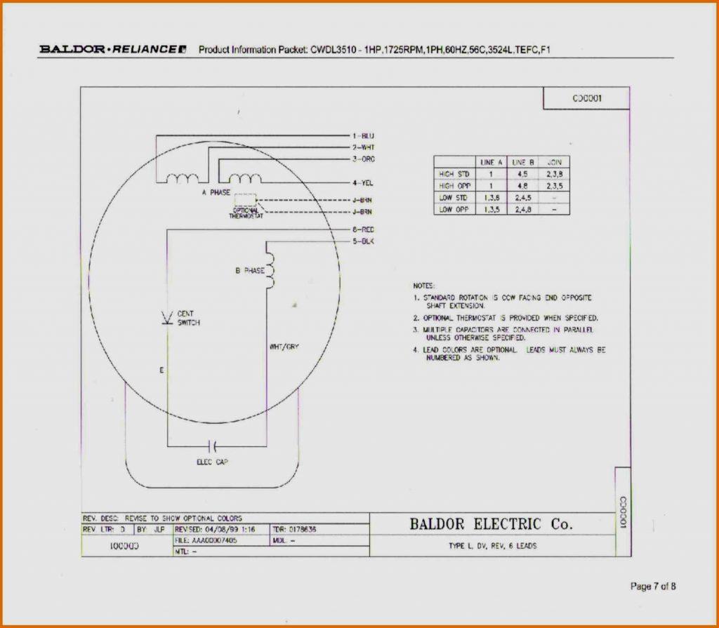 Marathon Motors Wiring Diagram