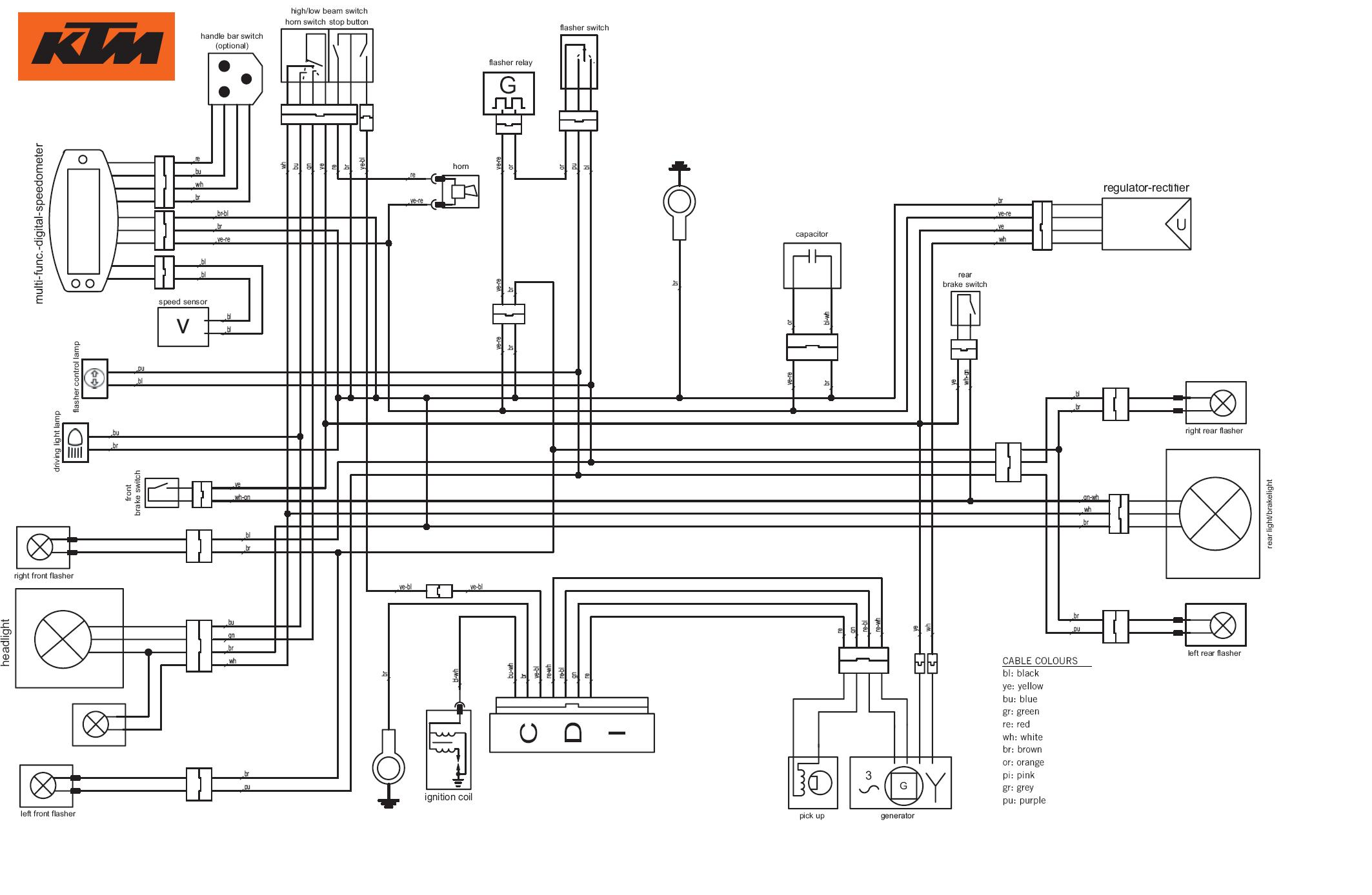 Ha 6348  Ktm Freeride 250r Wiring Diagram Schematic Wiring