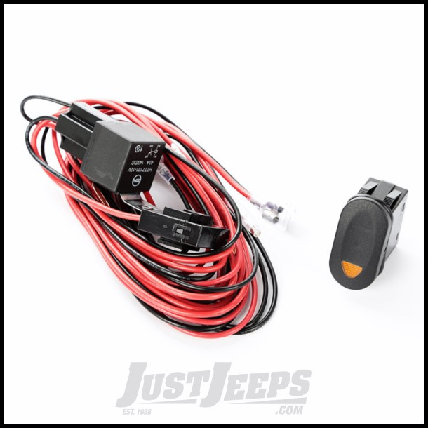 Tremendous Just Jeeps Rugged Ridge Single Connection Wiring Harness With Amber Wiring Cloud Vieworaidewilluminateatxorg