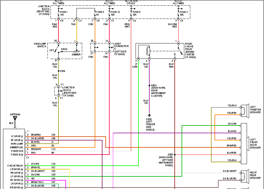 2008 Dodge Ram Stereo Wiring Diagram Collection