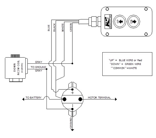 Rf 9542  Hydraulic Control Valves Wiring Up And Down For Diagrams Free Diagram