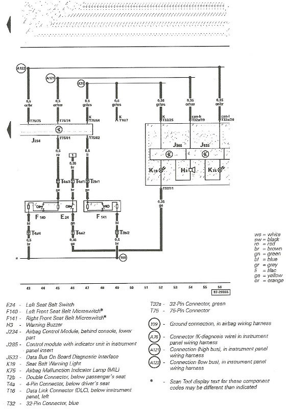 Mk4 Jetta Seat Wiring Diagram
