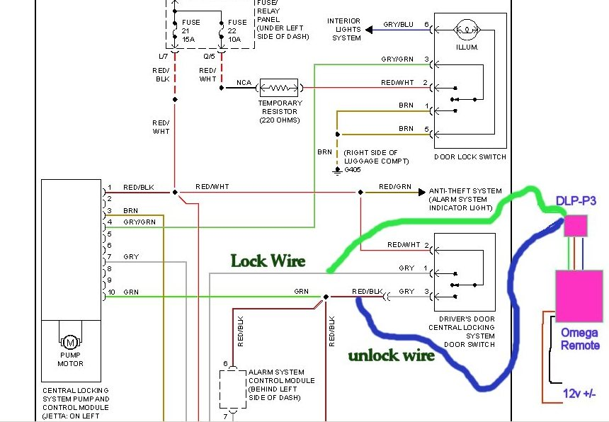 Vw Golf Mk4 Towbar Wiring Diagram