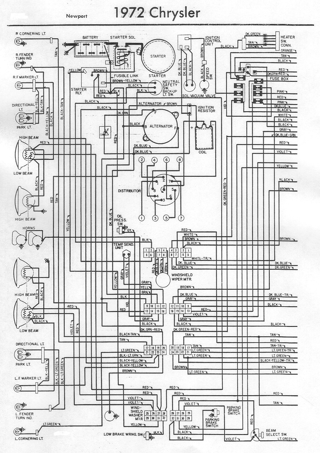 1966 chrysler 300 engine wiring diagram 1966 chrysler newport wiring diagram wiring diagram data  1966 chrysler newport wiring diagram