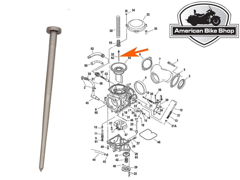 FT 40] Keihin Cv Carburetor Diagrams Wiring Diagram