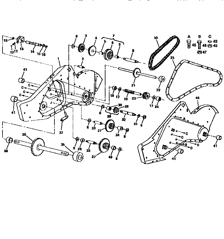 Wondrous Wiring Diagram Diagram Parts List For Model 502254280 Craftsman Wiring Cloud Inklaidewilluminateatxorg