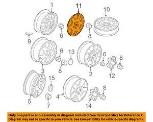 Miraculous Saturn Gm Oem 02 07 Vue Wheels Wheel Cover 22624423 Ebay Wiring Cloud Loplapiotaidewilluminateatxorg