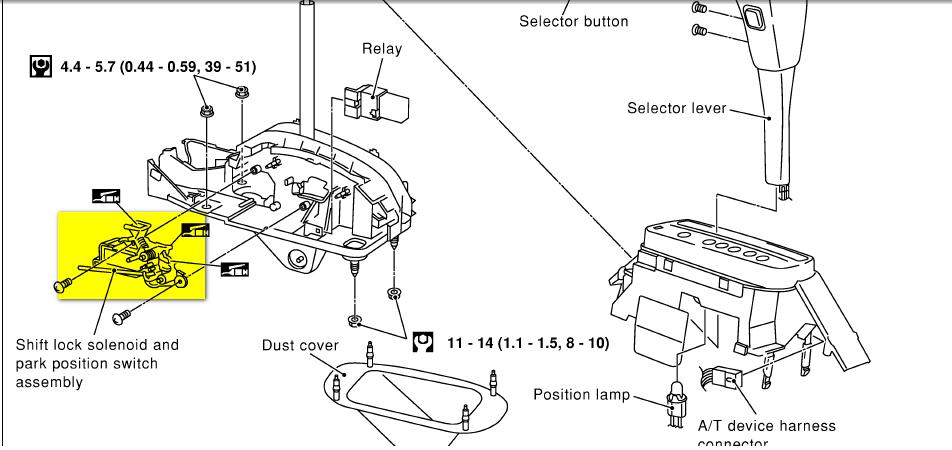 2006 nissan maxima fuse box wr 5448  nissan maxima fuse box diagram also nissan altima shift  nissan maxima fuse box diagram also