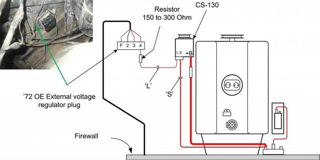 Prime Cs130 Alt Upgrade With Painless Wiring Kit The 1947 Present Wiring Cloud Cranvenetmohammedshrineorg