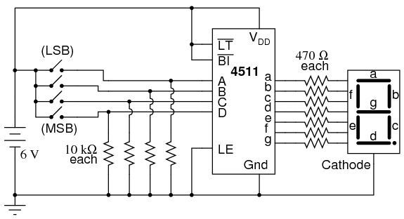 [DIAGRAM_38EU]  LY_9181] Bcd To 7Segment Display Driver 74Ls47D Connected With Hd1105R  Common Schematic Wiring | 7 Segment Wiring Diagram |  | Ally Tobiq Mohammedshrine Librar Wiring 101