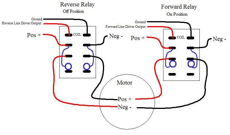 fw4205 single phase motor forward reverse wiring diagram
