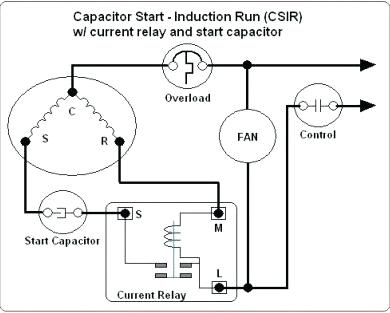 xo0196 ac capacitor wiring diagram hard start capacitor