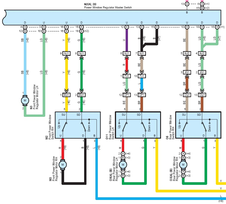 xz3772 toyota trailer wiring colors download diagram