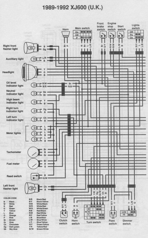 Xj 600 Diversion Wiring Diagram
