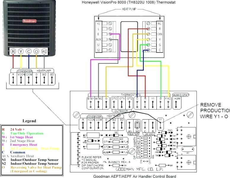 goodman heat pump thermostat wiring diagram  2009 nissan