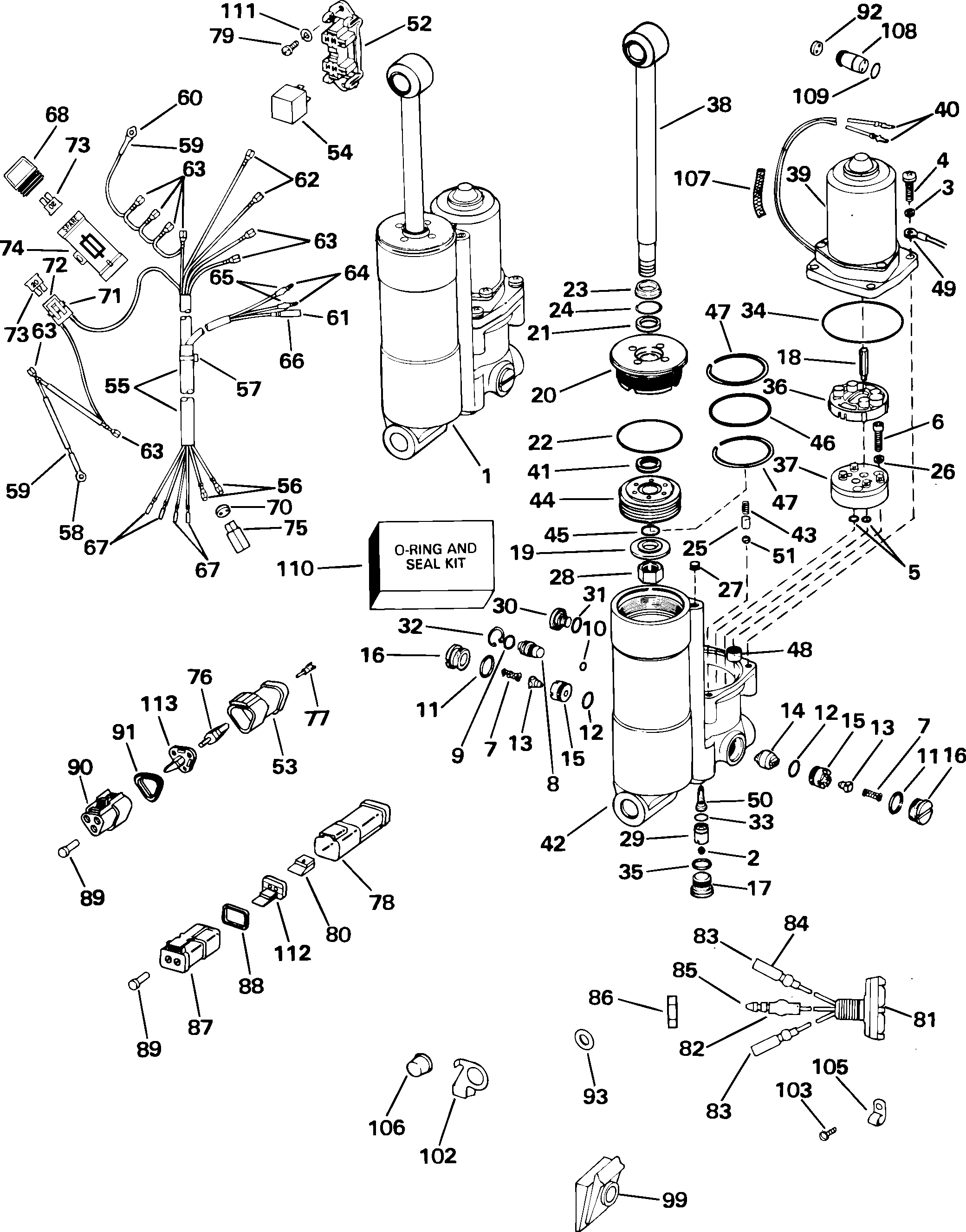 Go 8556 Outboard Wiring Harness Diagram On Evinrude Outboard Ignition Wiring Schematic Wiring