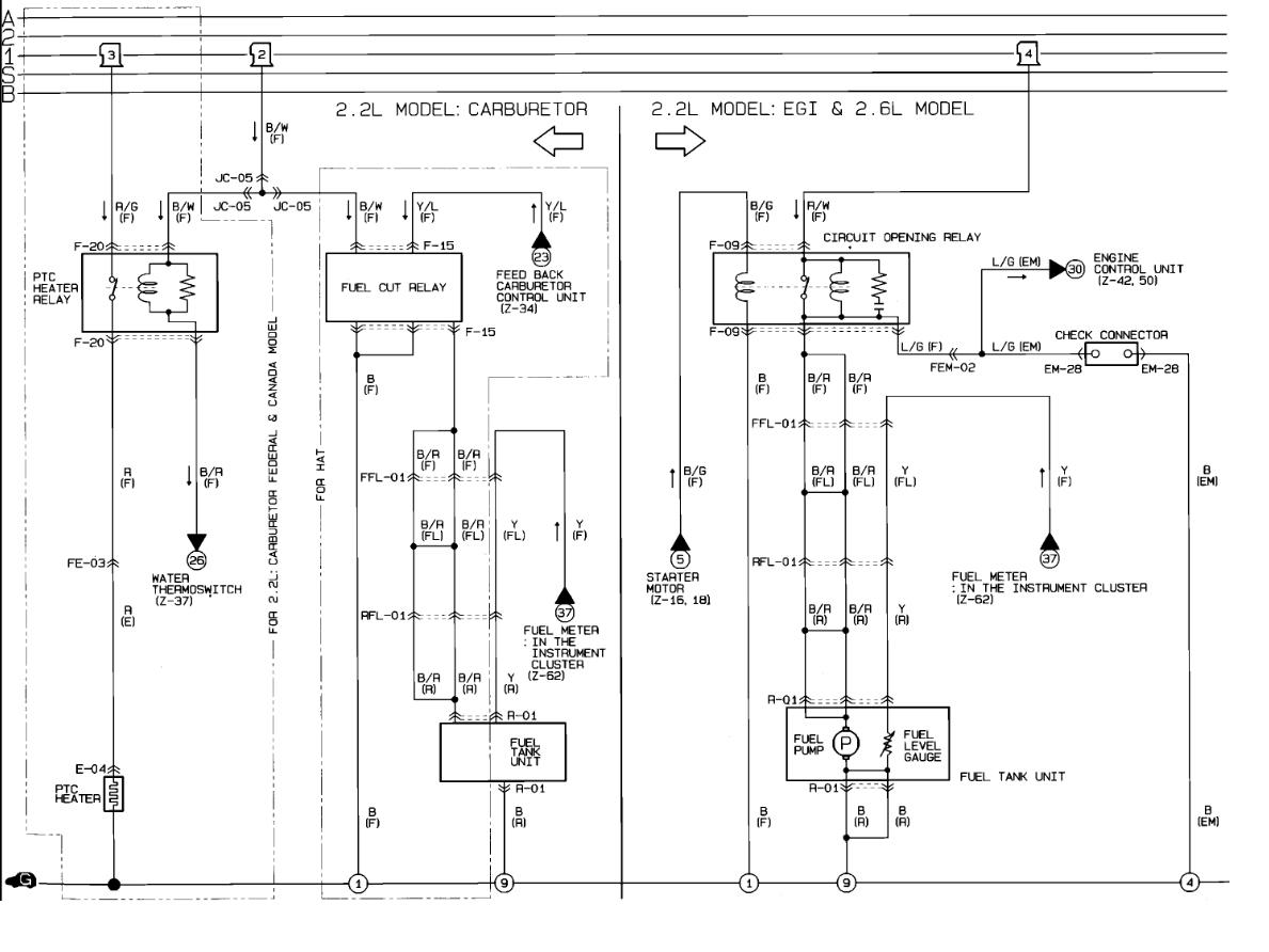 [DIAGRAM_38EU]  KG_8147] 1992 Mazda B2200 Fuel Control Relay Interior Problem 1992 Mazda  Free Diagram   1992 Miata Fuel Tank Wiring Diagram      Hila Hapolo Mohammedshrine Librar Wiring 101