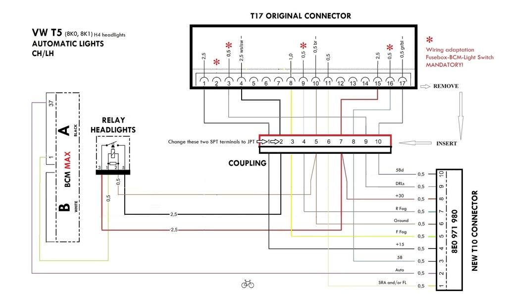 vw hid wiring diagram  wiring diagrams database lease