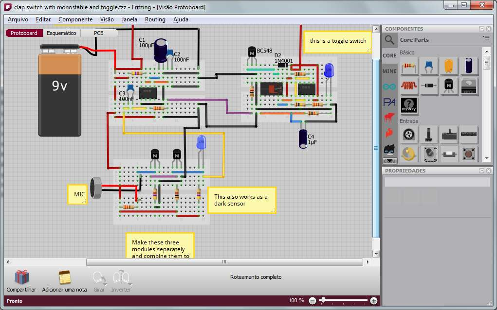 Dd 3849 Download Fritzing Electronic Design Automation Software Xtronic Download Diagram