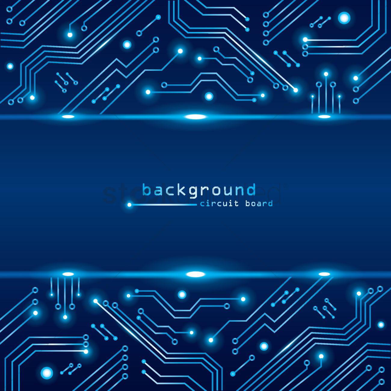 Magnificent Technical Circuit Board Background Vector Image 1789155 Wiring Cloud Filiciilluminateatxorg