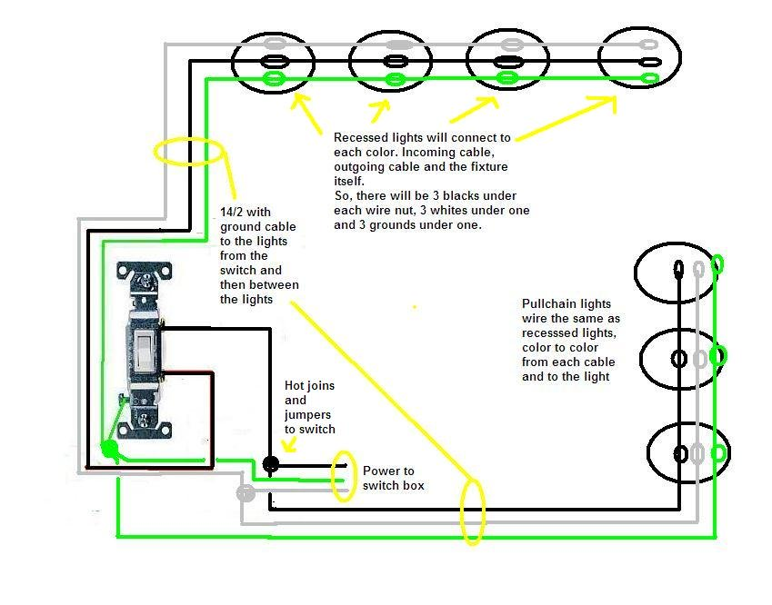 wiring diagram of led recessed lighting  schematics for 98