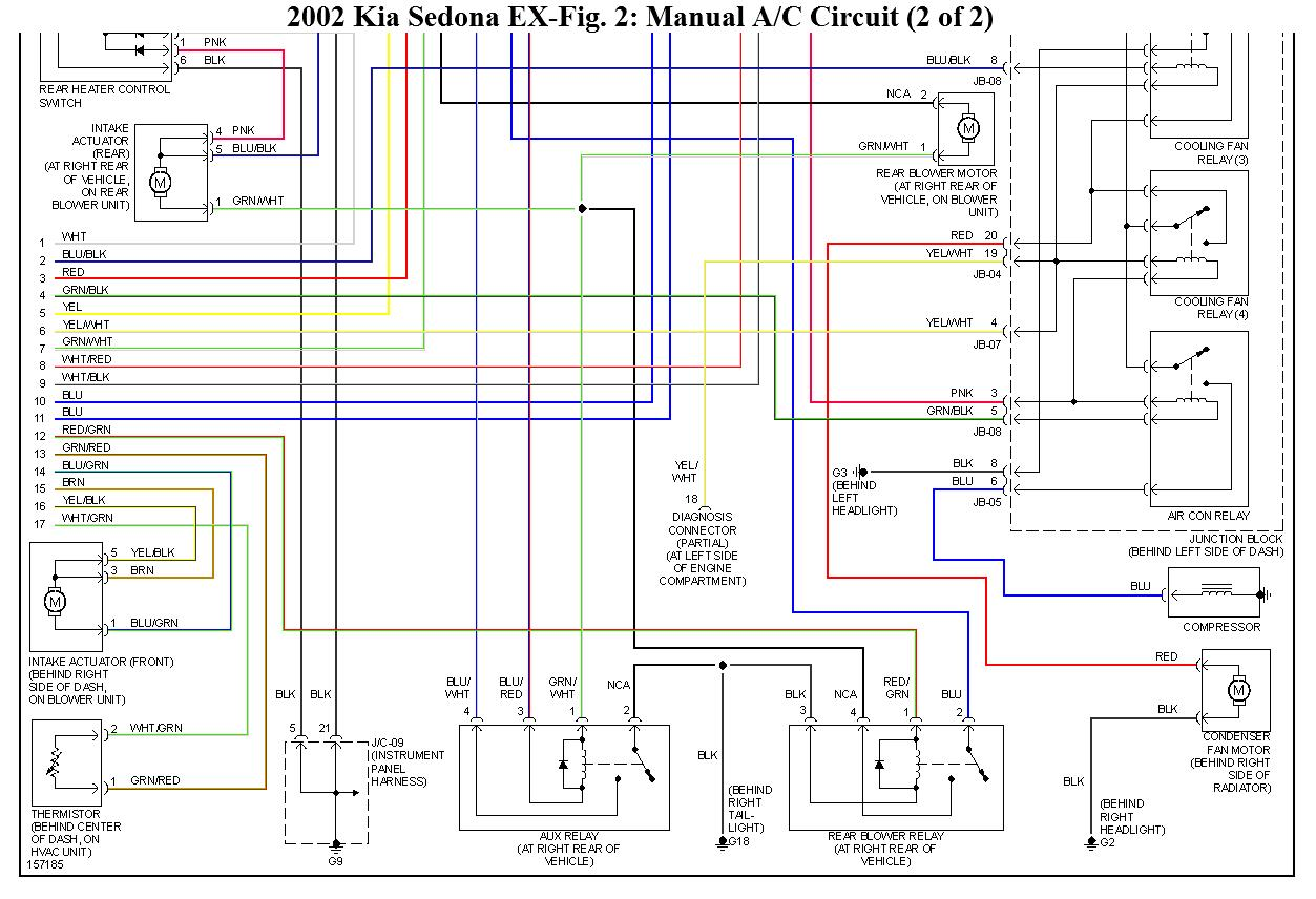 2002 Kia Sportage Window Wiring Diagram