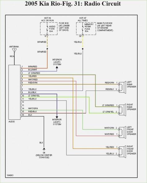 2002 Kia Sportage Radio Wiring Diagram - Wiring Diagram